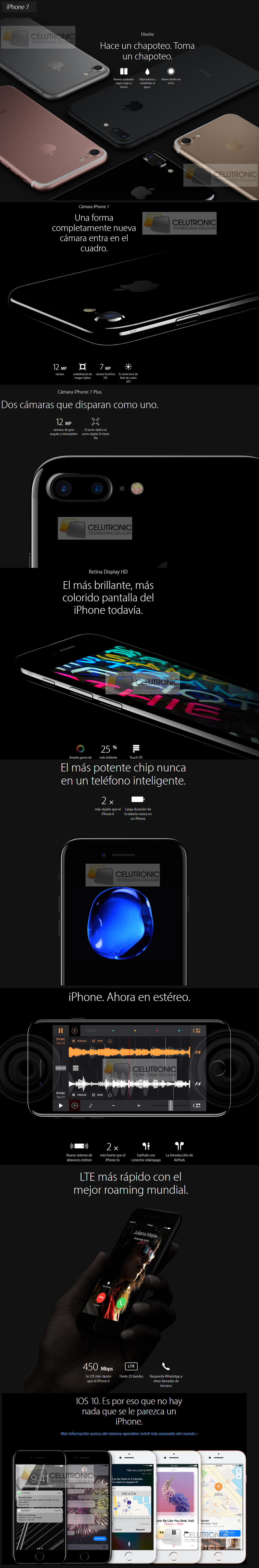 apple iphone 7 en argentina